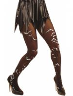 Black Tights with Bats - Plus Size